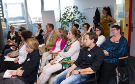 "PR-Talk: ""PR meets Coaching - alles Kommunikation oder was?"" ©PRVA/Jana Madzigon"