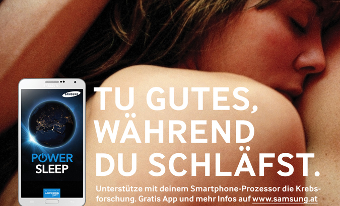 Projekt: Samsung Power Sleep